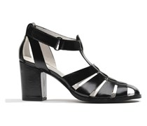 Menthe Hello #2 Sandalen in schwarz