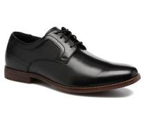 SP Perf Plain Toe Schnürschuhe in schwarz