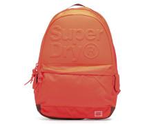 Line men embossed montana Rucksäcke für Taschen in orange