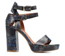 Glossy Cindy #12 Sandalen in blau