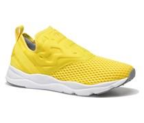 Furylite SlipOn Tech Sneaker in gelb