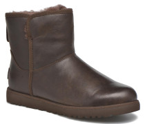 W Cory Leather Stiefeletten & Boots in braun