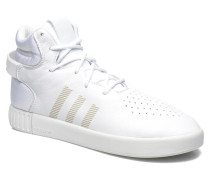 Tubular Invader Sneaker in weiß