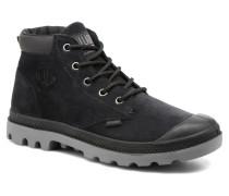Pampa Lo Cuff Sue Stiefeletten & Boots in schwarz