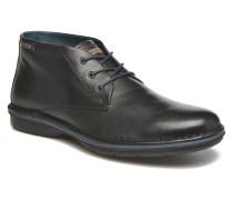 LUGO M1F8093 Schnürschuhe in schwarz