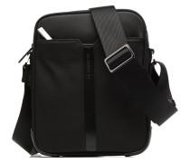 Crossbody Cuir Audacieux Herrentaschen für Taschen in schwarz