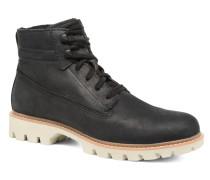 Basis Stiefeletten & Boots in schwarz