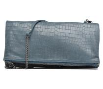 Léonie croco Mini Bags für Taschen in blau