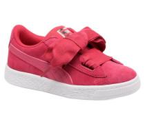 Inf Basket Heart GlaminPS Glam Sneaker in rosa