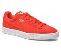 Suede classic eco W Sneaker in rot
