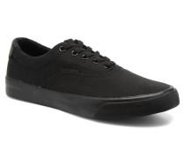 JJ Surf Canvas Low Sneaker in schwarz