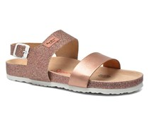 Bio Glitter Sandalen in rosa