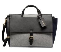 Porté main Melina Bicolore Flanelle Handtaschen für Taschen in grau