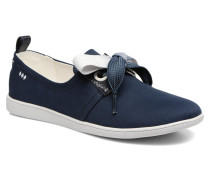Stone one Glaze Sneaker in blau