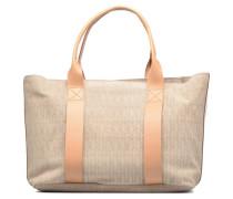 TASMIN BELLA Cabas suède Handtaschen für Taschen in beige