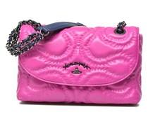 Quilted Squggle Handtaschen für Taschen in rosa