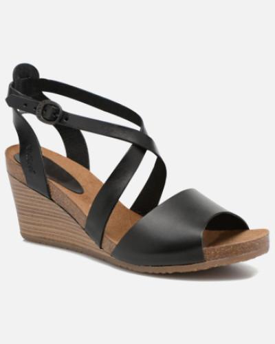 Spagnol Sandalen in schwarz