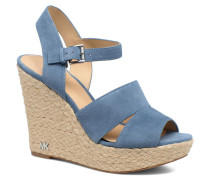 Taylor Wedge Sandalen in blau