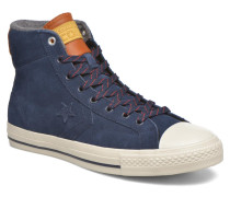 Star Player Suede Hi M Sneaker in blau