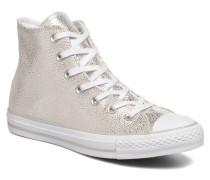 Ctas Stingray Metallic Hi Sneaker in silber