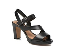 Jenness Soothe Sandalen in schwarz