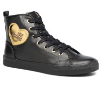 Gold Heart Basket Sneaker in mehrfarbig