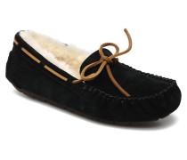 Dakota Slipper in schwarz