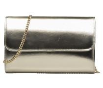 EDILAinMET Sac pochette Mini Bags für Taschen in goldinbronze