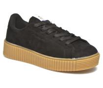 Crepa Sneaker in schwarz