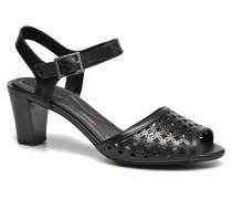 Audrina Laser 2 Piece Sandalen in schwarz