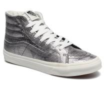 Sk8Hi Slim W Sneaker in silber