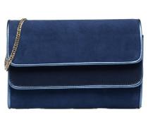 AMANDE Sac pochette chèvre velours Mini Bags für Taschen in blau