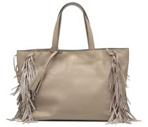 Cabas franges Handtaschen für Taschen in beige