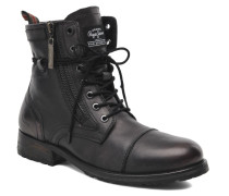 Melting Zipper Heritage Stiefeletten & Boots in schwarz