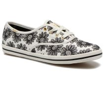 Ch Daisy Embroidery Sneaker in schwarz
