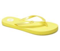 Nautilus L Zehensandalen in gelb