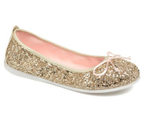 Celinda Ballerinas in goldinbronze
