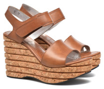 Eny 7 Sandal Velcro Sandalen in braun