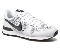 W Internationalist Print Sneaker in weiß