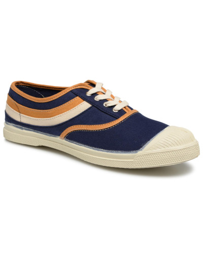 Tennis Waves Sneaker in blau
