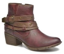 Heïra Stiefeletten & Boots in weinrot
