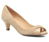 Diplex Pumps in beige