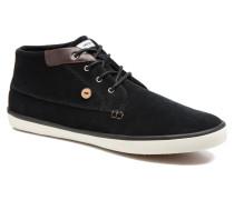 Wattle Suède Sneaker in schwarz
