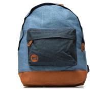 Premium Denim Rucksack in blau