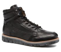 Napo Pnm Stiefeletten & Boots in schwarz