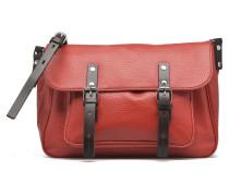 Gibecière grainée Handtaschen für Taschen in rot