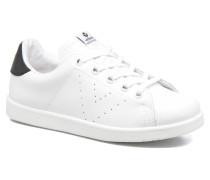 Deportivo Basket Piel E Sneaker in weiß
