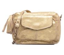 Naina Leather Crossover Mini Bags für Taschen in goldinbronze