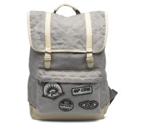 Retro Surf Dome Sac à dos Rucksack in grau