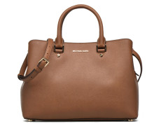 SAVANNAH LG SATCHEL Handtaschen für Taschen in braun